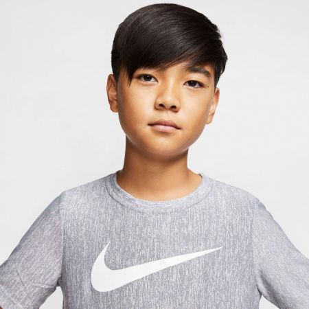 Chlapecké tréninkové tričko - Nike CORE SS PERF TOP HTHR B - 3