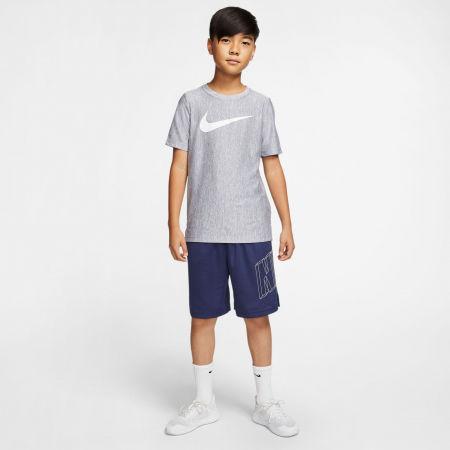 Chlapecké tréninkové tričko - Nike CORE SS PERF TOP HTHR B - 5