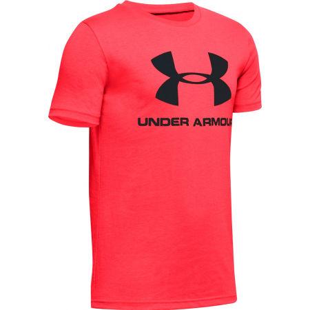 Under Armour SPORTSTYLE LOGO SS - Chlapecké triko