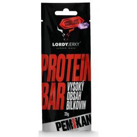 LORDYJERKY HOVĚZÍ PROTEIN BAR ŠVESTKA - Proteinová tyčinka
