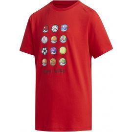 adidas YB PKM TEE - Chlapecké triko
