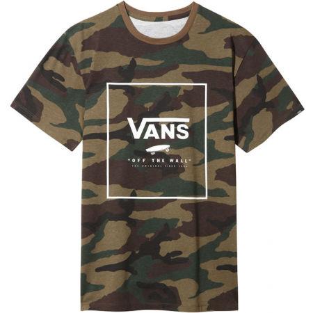 Pánské triko - Vans PRINT BOX - 1