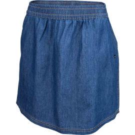 Willard LELA - Dámská plátěná sukně džínového vzhledu