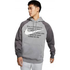 Nike NSW SWOOSH HOODIE PO BB M - Pánská mikina