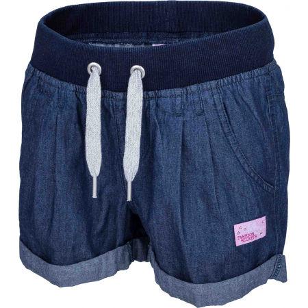 Lewro LAILA - Dívčí šortky džínového vzhledu