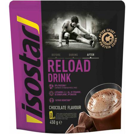 Proteinový nápoj v prášku - Isostar AFTER SPORT DRINK 450 G