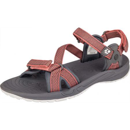 Jack Wolfskin LAKEWOOD RIDE SANDAL - Dámské turistické sandály