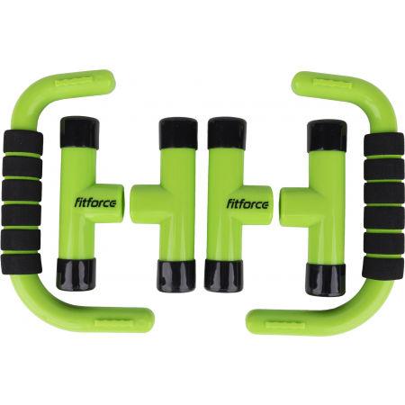 Úchopy na cvičení - Fitforce PUSHUPBAR - 3