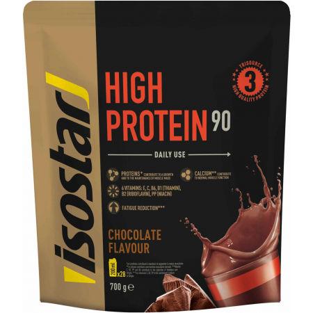 Isostar HIGH PROTEIN 90 ČOKO 700G - Prášek pro přípravu vysoce proteinového nápoje