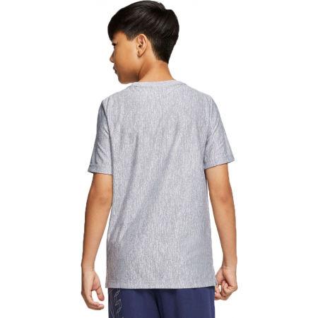 Chlapecké tréninkové tričko - Nike CORE SS PERF TOP HTHR B - 2