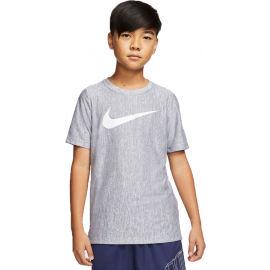 Nike CORE SS PERF TOP HTHR B - Chlapecké tréninkové tričko