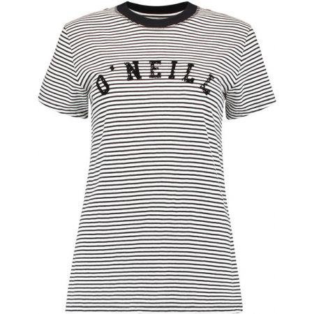 Dámské tričko - O'Neill LW ESSENTIALS STRIPE T-SHIRT - 1