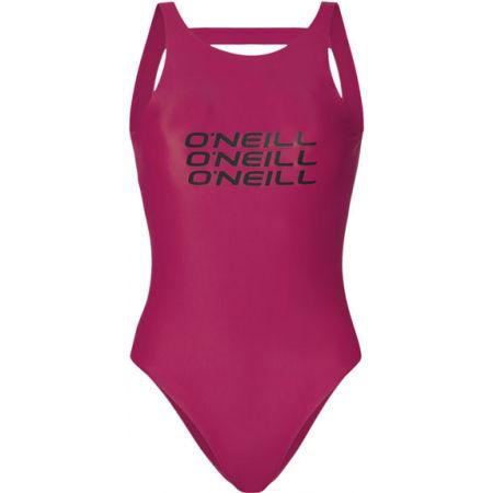 O'Neill PW NOOS LOGO BATHINGSUIT - Dámské jednodílné plavky