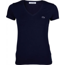 Lacoste V NECK SS T-SHIRT - Dámské tričko