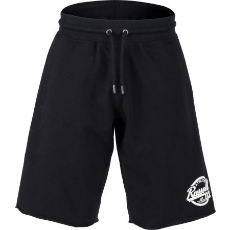 Russell Athletic COLLEGIANTE RAW EDGE SHORTS - Pánské šortky