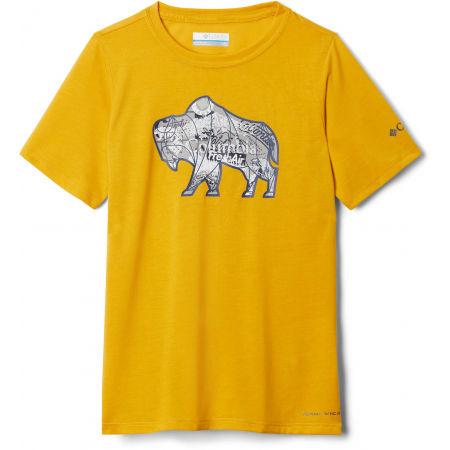 Columbia RANCO LAKE SHORT SLEEVE TEE - Dětské triko